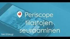 Periscope statistiikat, mitä tietoja löytyy FullScope.tv-softasta
