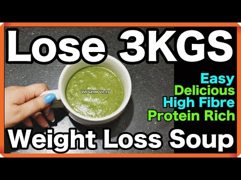 Winter Diet/ Meal Plan For Weight Loss | Lose Weight Fast 2-3KG in a Week | Weight Loss Soup