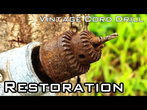 Vintage Cord Drill Restoration [National Brand - Unknown Year]