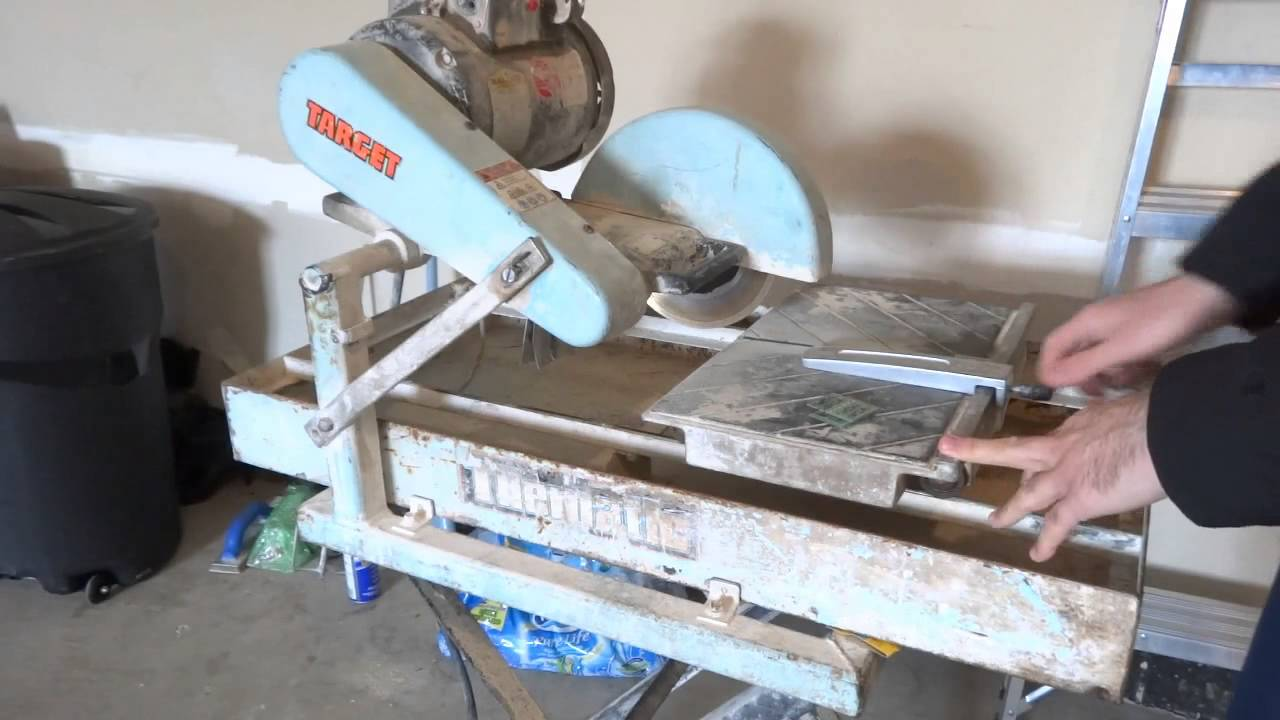 cutting pcbs easily with a wet tile saw