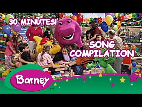 Barney  Song Compilation 30 Minutes!