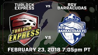 Turlock Express vs RGV Barracudas thumbnail