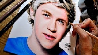 Drawing Niall Horan