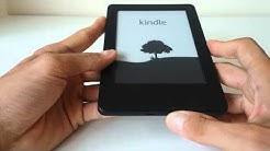 Resetting Kindle