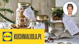 JADALNE PREZENTY ŚWIĄTECZNY DIY!  | Kinga Paruzel & Kuchnia Lidla