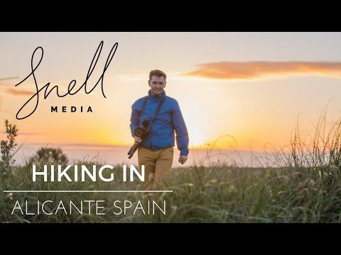 Hiking in Alicante Spain with Backpacker Steve
