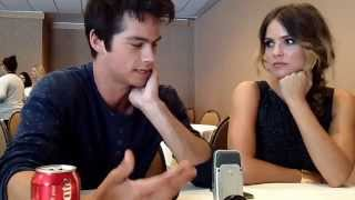 Interview With Dylan O'Brien & Shelley Hennig of MTV's Teen Wolf at Comic-Con 2014 Thumbnail