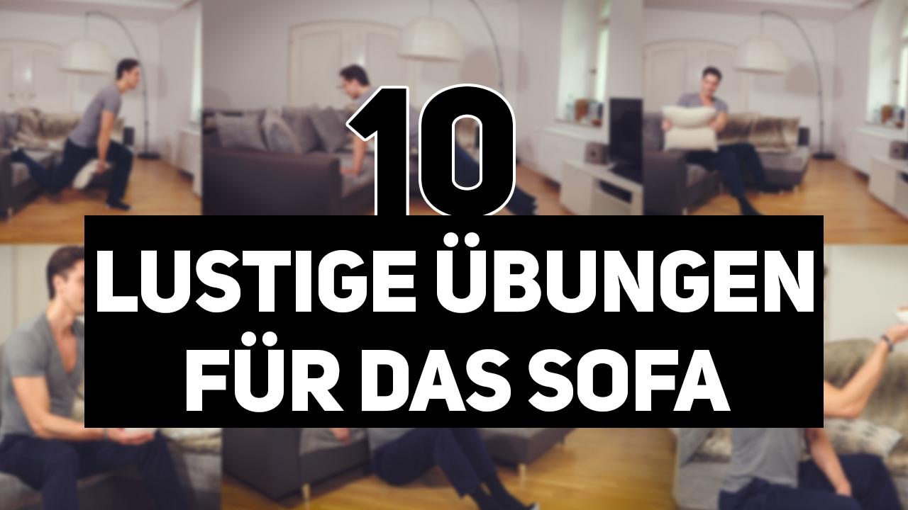 Abnehmen Training Zuhause 10 Ubungen Auf Dem Sofa Von Daniel