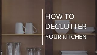 6 Steps to Declutter Your Kitchen