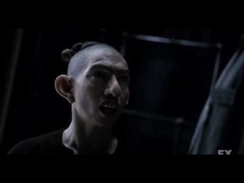 american horror story asylum - smart Pepper confronts doctor arden opening scene