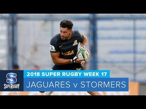 HIGHLIGHTS: 2018 Super Rugby Week 17: Jaguares v Stormers