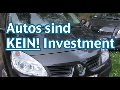Warum ein Auto kein Investment ist - AktienMitKopf.de