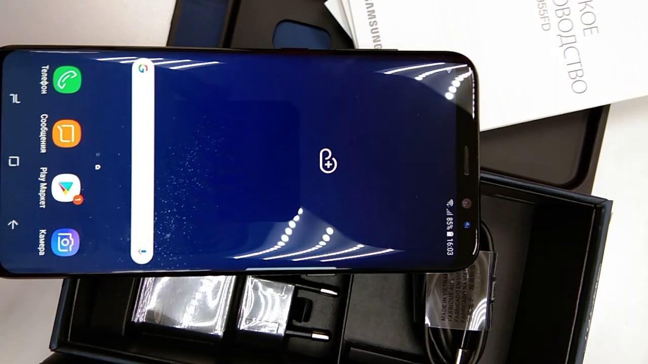 Краткий обзор на Смартфон Samsung Galaxy S8+ 64GB ТЛ000014418
