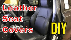 Leather Seat Covers - How To