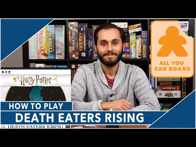 Harry Potter: Death Eaters Rising | Learn to Play (in less than 7 Minutes!)