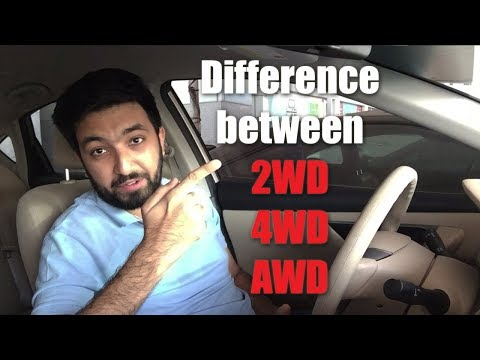 The Differences Between 2WD, 4WD & AWD And Which One Is Best?