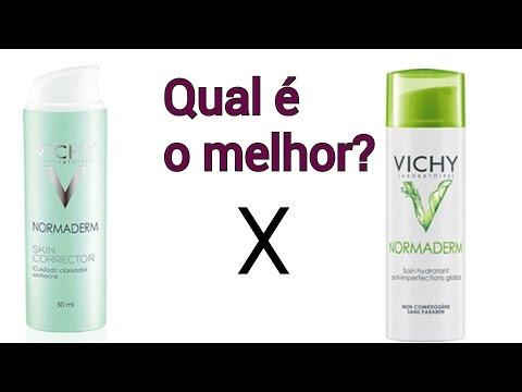 Hidratante Normaderm Tri Activ Vichy x Hidratante Normaderm Skin Corrector Vichy