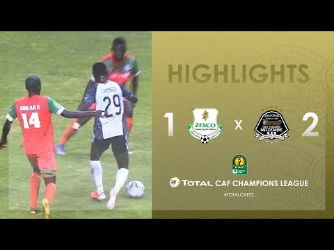 HIGHLIGHTS | #TotalCAFCL | Round 2 - Group A: Zesco United FC 1-2 TP Mazembe