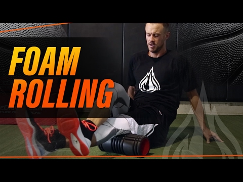 Foam Rolling For Basketball with Coach Alan Stein
