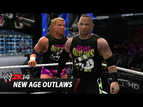 wwe 2k14 community showcase the new age outlaws current