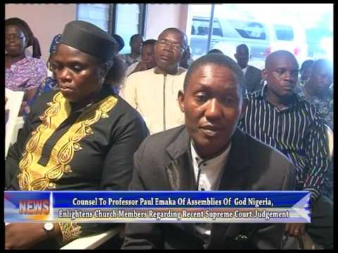 Counsel enlightens church members over recent Supreme Court judgement