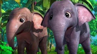 Маугли - Книга Джунглей – Кто самый храбрый? – развивающий мультфильм для детей