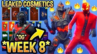 *NEW* All Leaked Fortnite Skins & Emotes..! *WEEK 8 FREE SKIN* (Ruin, Inferno,Dream Feet ,OG Reflex)