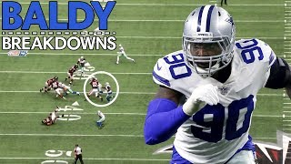 "Analyzing DeMarcus ""Tank"" Lawrence's Hardest Tackles 