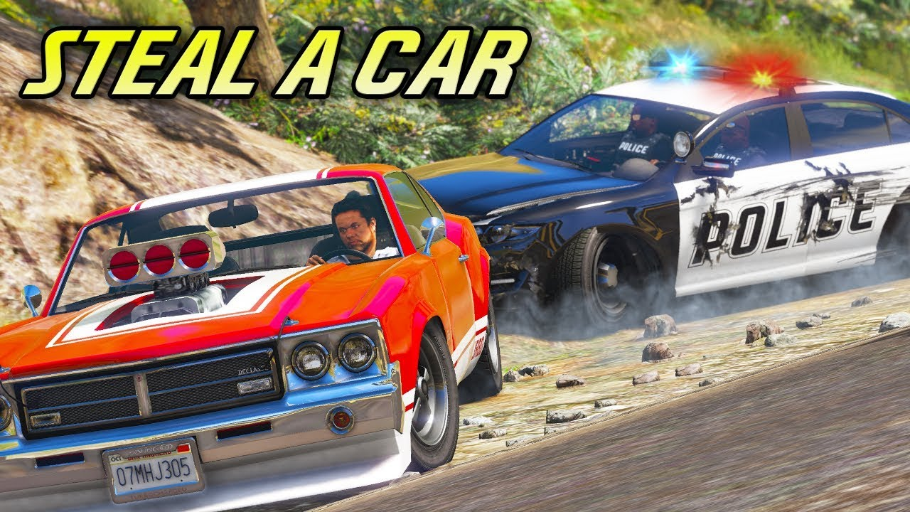 "Download ""Steal a Car"" - GTA 5 Action Film"
