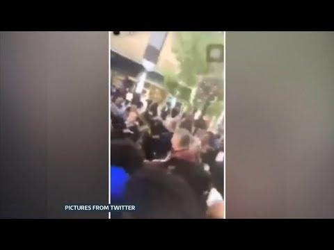 Mindless Mayhem (70 youths fight) (UK) - ITV London News - 11th September 2018