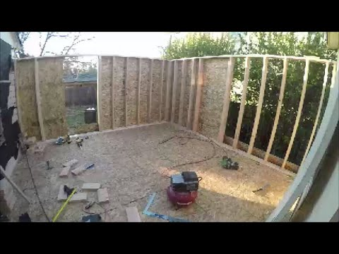 Diy addition how to build a room addition to your home on for Diy home building cost
