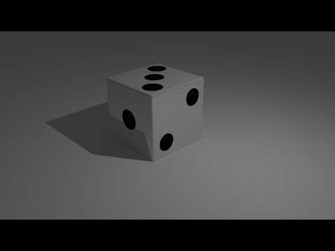 How to make a Die in Blender