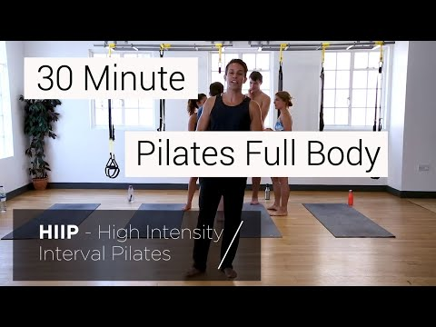 HiiT Pilates 1.0 Sky Retreats High Intensity Interval Pilates Training Workout with Alex E.!