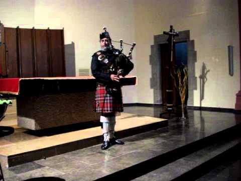 Abide With Me 2 Bagpipes