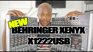 BEHRINGER XENYX X1222USB (New out the box)