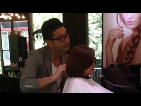 la fiorire korean hair salon, Tony, Iris,Kuala Lumpur, glam perm,  two tone, Volum rebonding