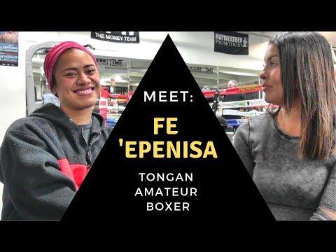 Meet the Mayweather Boxing Club:  Fe 'Epenisa - Tongan amateur boxer