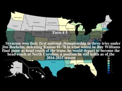 2003 NCAA Men's Division I Basketball Tournament Top # 7 Facts