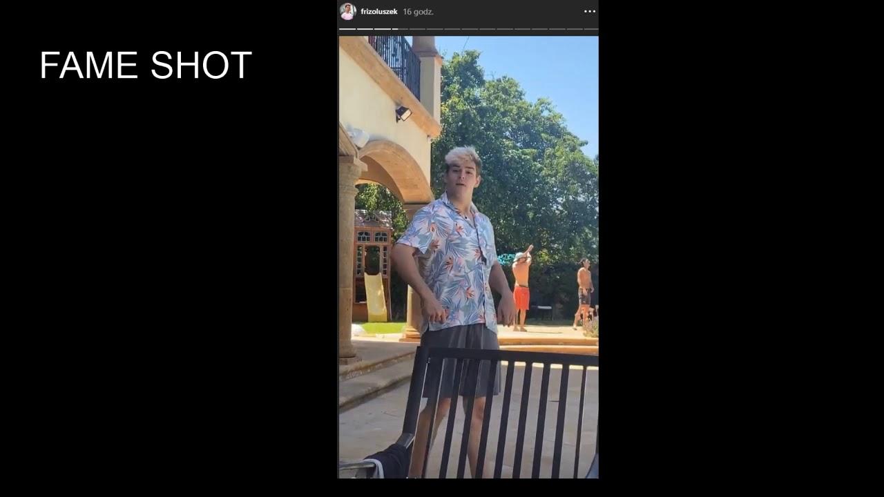 Friz przypadkiem pokazał Wersow bez ubrań na Instagramie!