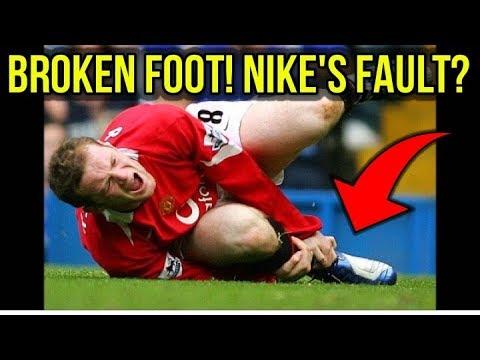 aee2995ab57df THE FOOTBALL BOOTS THAT BROKE WAYNE ROONEY'S FOOT? - 5 RANDOM BOOTS ...