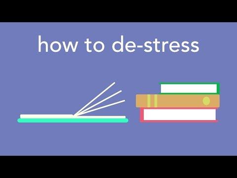 how to de-stress
