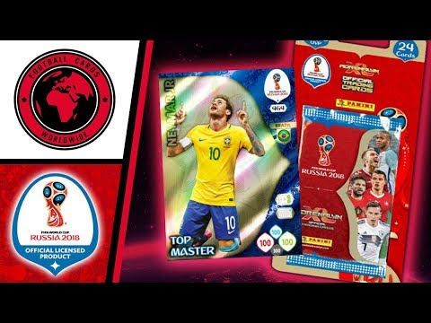 TOP-MASTER NEYMAR!!! UNBOXING WORLD CUP 2018 BLISTER | Panini Adrenalyn XL World Cup Russia 2018
