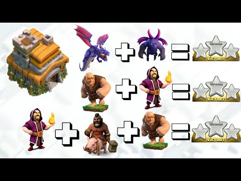 2019 | NEW TOP 3 TH7 ATTACK STRATEGIES | WITH REPLAYS | CLASH OF CLANS        2019.