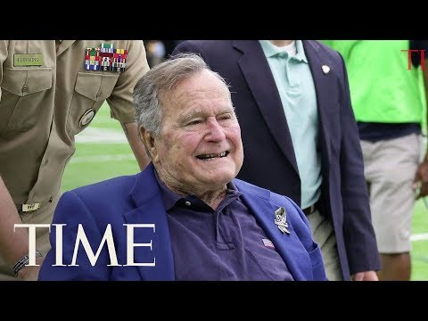 George H.W. Bush Says He Has Occasionally 'Patted Women's Rears' Amid Groping Allegations | TIME