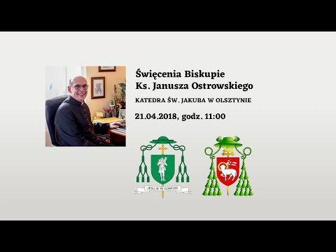 Święcenia Biskupie Ks. Janusza Ostrowskiego