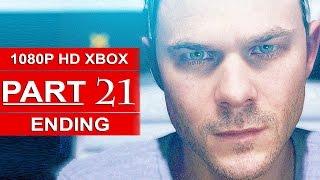 Quantum Break ENDING Gameplay Walkthrough Part 21 [1080p HD Xbox One] - No Commentary