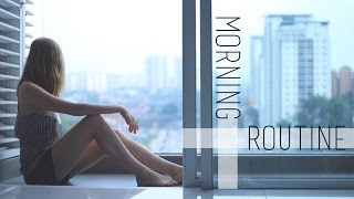 Morning Routine ✈︎ Travel Edition   chanelegance