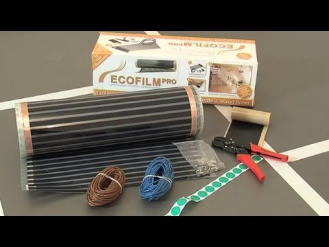 ECOFILM PRO Electric Underfloor Heating Installation Kit