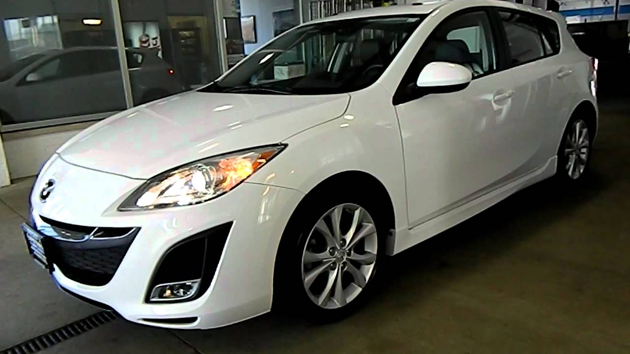 crystal white 2010 mazda3 s grand touring eastside mazda. Black Bedroom Furniture Sets. Home Design Ideas