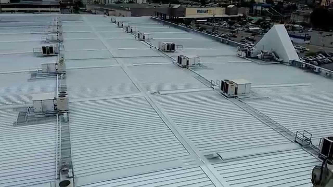 Telhado Branco Elastomeric Roof Coating